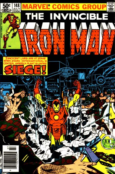 Cover for Iron Man (Marvel, 1968 series) #148 [Direct Edition]