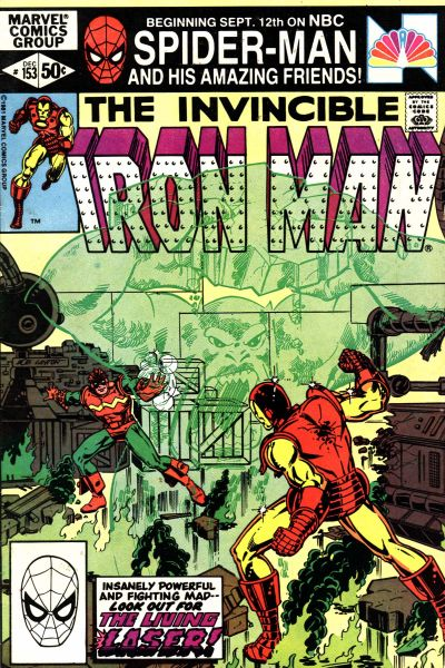 Cover for Iron Man (Marvel, 1968 series) #153 [direct edition]