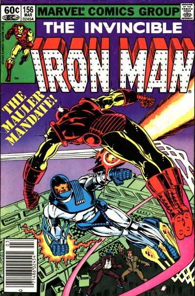 Cover for Iron Man (Marvel, 1968 series) #156 [direct edition]