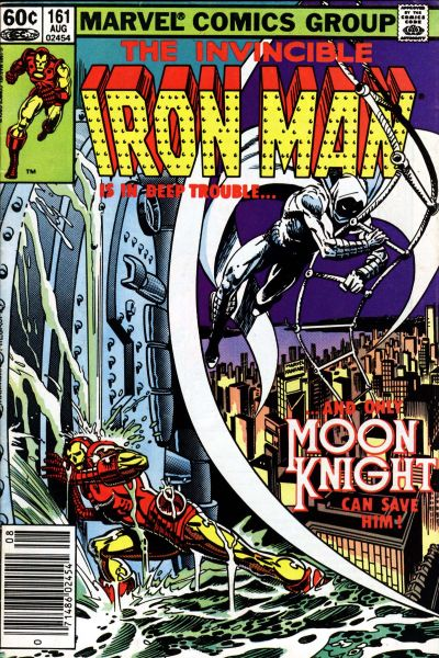 Cover for Iron Man (Marvel, 1968 series) #161