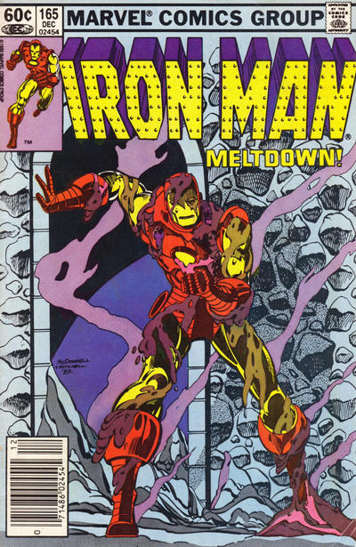 Cover for Iron Man (Marvel, 1968 series) #165 [Newsstand]