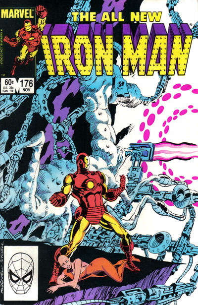 Cover for Iron Man (Marvel, 1968 series) #176 [Newsstand]