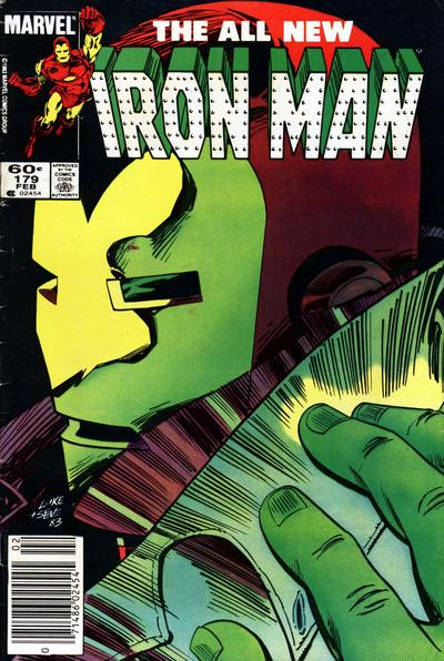 Cover for Iron Man (Marvel, 1968 series) #179 [Newsstand Edition]