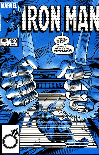Cover for Iron Man (Marvel, 1968 series) #180 [Direct]