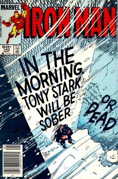 Cover for Iron Man (Marvel, 1968 series) #182 [Newsstand]