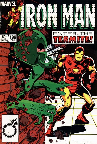Cover for Iron Man (Marvel, 1968 series) #189 [Newsstand]