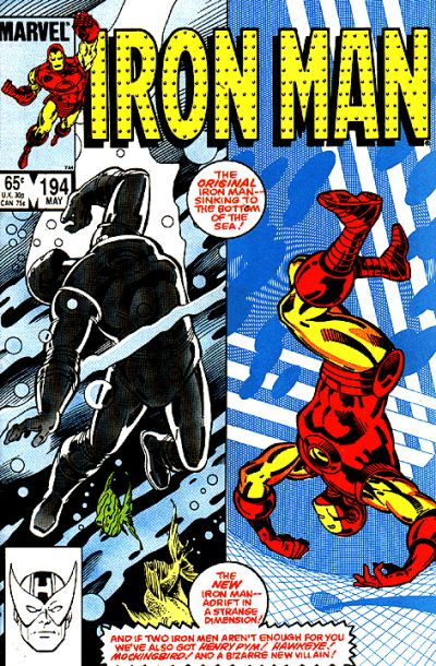 Cover for Iron Man (Marvel, 1968 series) #194 [Direct Edition]