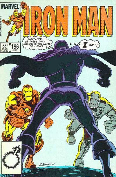 Cover for Iron Man (Marvel, 1968 series) #196 [Newsstand Edition]