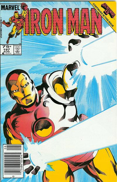 Cover for Iron Man (Marvel, 1968 series) #197 [Direct Edition]