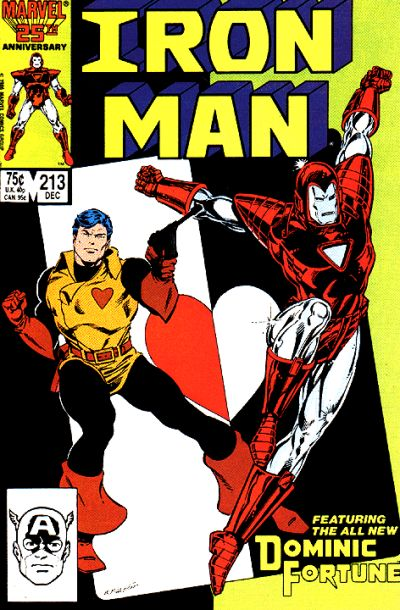 Cover for Iron Man (Marvel, 1968 series) #213 [Newsstand]