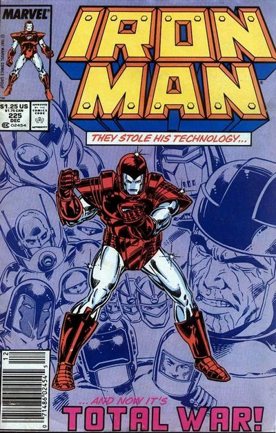 Cover for Iron Man (Marvel, 1968 series) #225