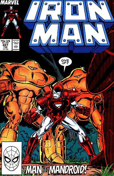 Cover for Iron Man (Marvel, 1968 series) #227 [Newsstand Edition]