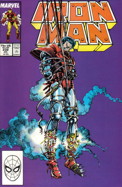 Cover for Iron Man (Marvel, 1968 series) #232 [Direct]