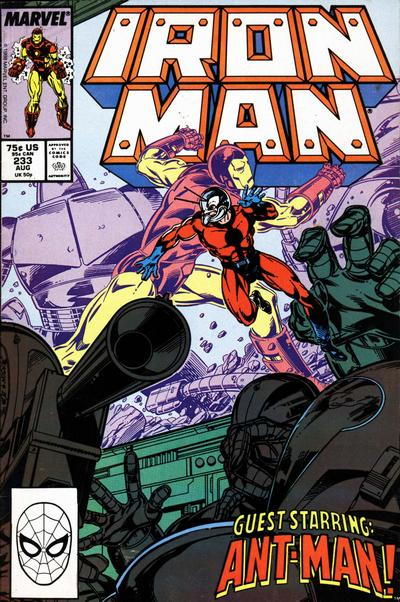 Cover for Iron Man (Marvel, 1968 series) #233