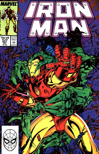 Cover for Iron Man (Marvel, 1968 series) #237 [Newsstand]