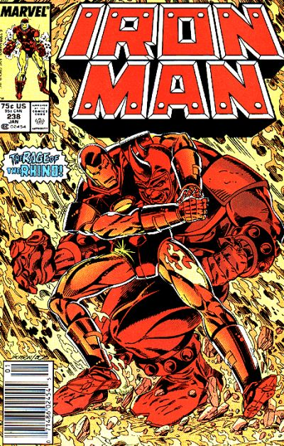 Cover for Iron Man (Marvel, 1968 series) #238 [Direct]