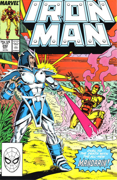 Cover for Iron Man (Marvel, 1968 series) #242 [Newsstand]