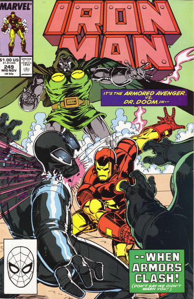 Cover for Iron Man (Marvel, 1968 series) #249 [Direct]