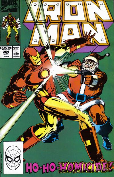 Cover for Iron Man (Marvel, 1968 series) #254 [Direct Edition]