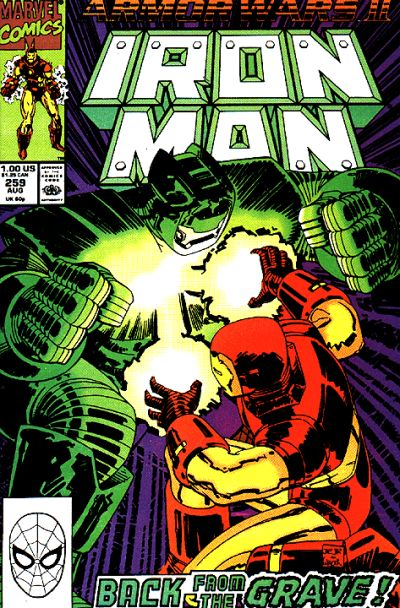 Cover for Iron Man (Marvel, 1968 series) #259
