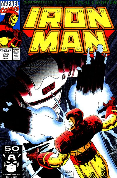 Cover for Iron Man (Marvel, 1968 series) #266 [Direct]