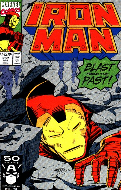 Cover for Iron Man (Marvel, 1968 series) #267