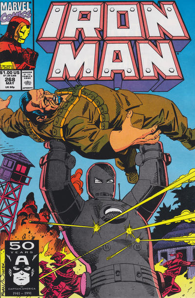 Cover for Iron Man (Marvel, 1968 series) #268