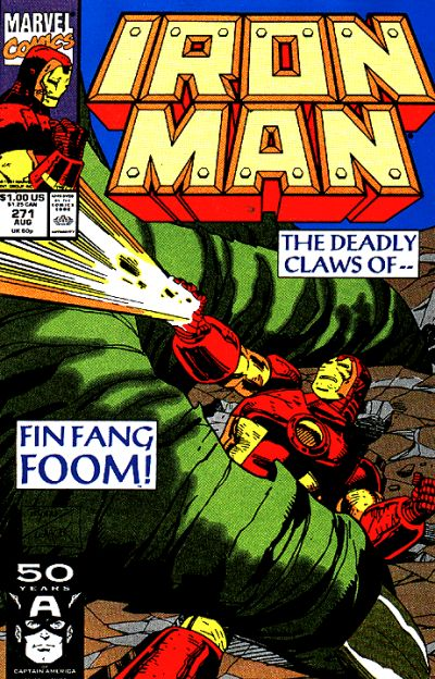 Cover for Iron Man (Marvel, 1968 series) #271