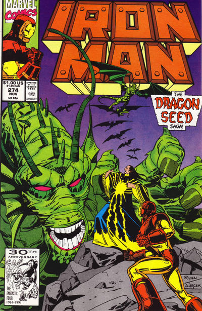 Cover for Iron Man (Marvel, 1968 series) #274