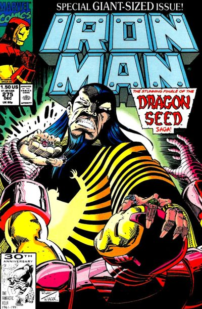 Cover for Iron Man (Marvel, 1968 series) #275