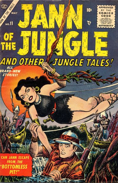 Cover for Jann of the Jungle (Marvel, 1955 series) #11