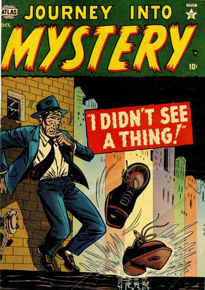 Cover for Journey into Mystery (Marvel, 1952 series) #3