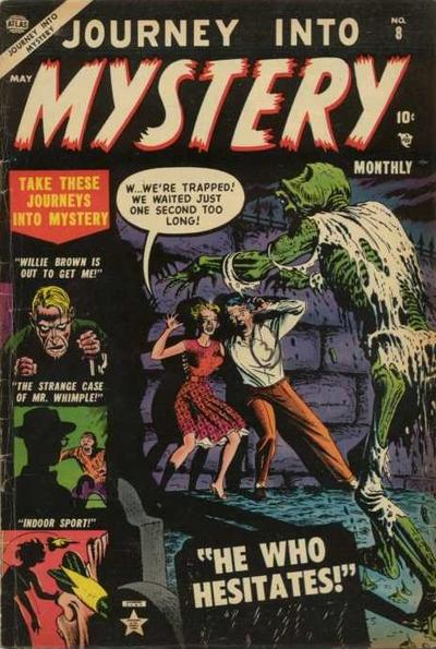 Cover for Journey into Mystery (Marvel, 1952 series) #8