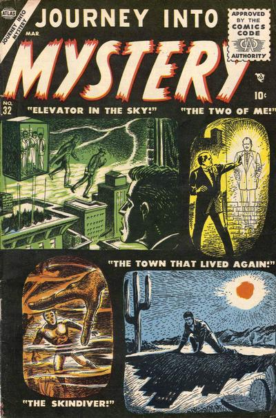 Cover for Journey into Mystery (Marvel, 1952 series) #32