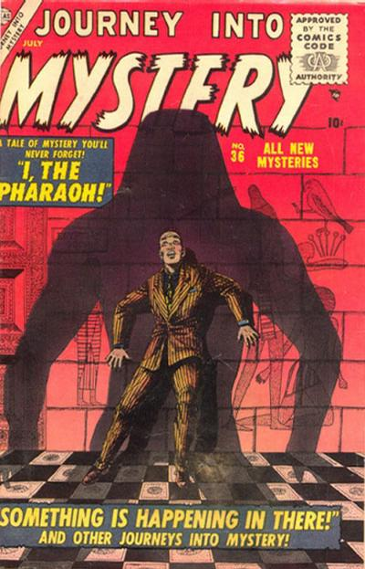 Cover for Journey into Mystery (Marvel, 1952 series) #36