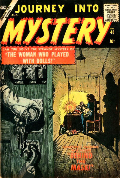 Cover for Journey into Mystery (Marvel, 1952 series) #48
