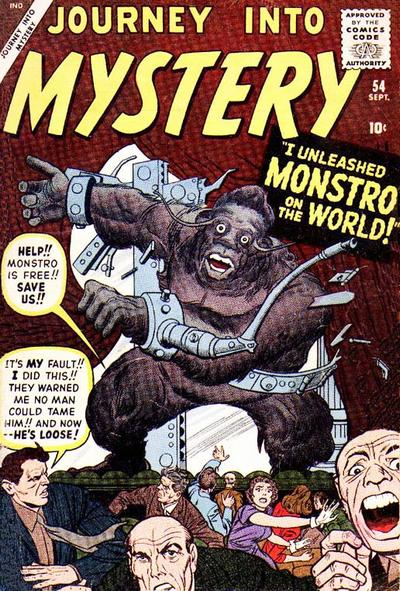 Cover for Journey into Mystery (Marvel, 1952 series) #54