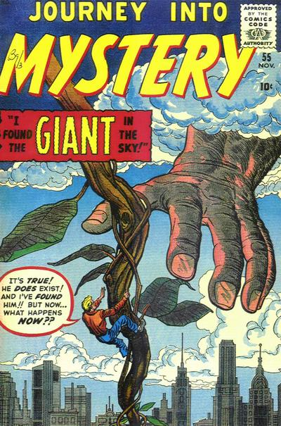 Cover for Journey into Mystery (Marvel, 1952 series) #55