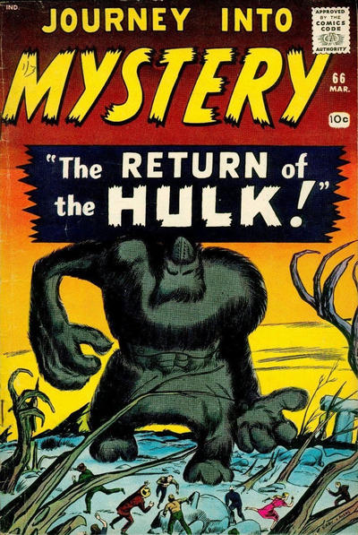 Cover for Journey into Mystery (Marvel, 1952 series) #66