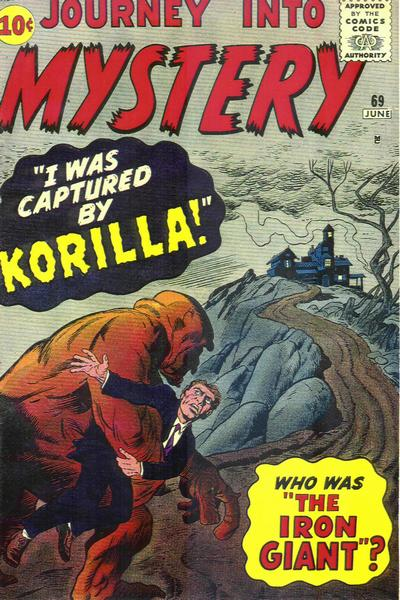 Cover for Journey into Mystery (Marvel, 1952 series) #69