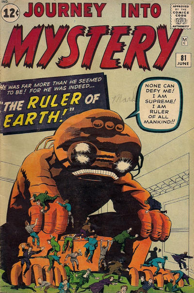 Cover for Journey into Mystery (Marvel, 1952 series) #81