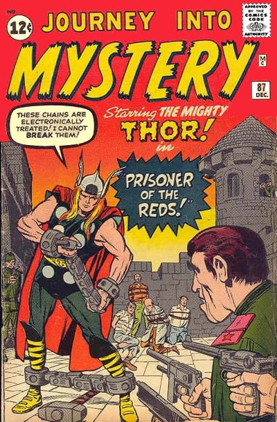 Cover for Journey into Mystery (Marvel, 1952 series) #87
