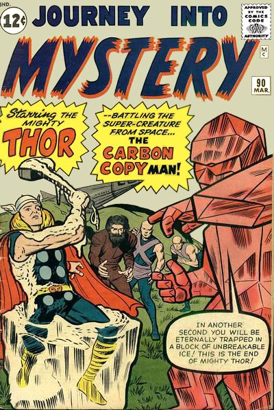 Cover for Journey into Mystery (Marvel, 1952 series) #90