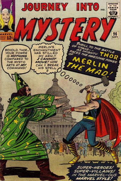 Cover for Journey into Mystery (Marvel, 1952 series) #96