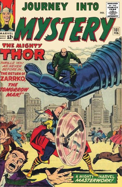 Cover for Journey into Mystery (Marvel, 1952 series) #101 [Regular Edition]
