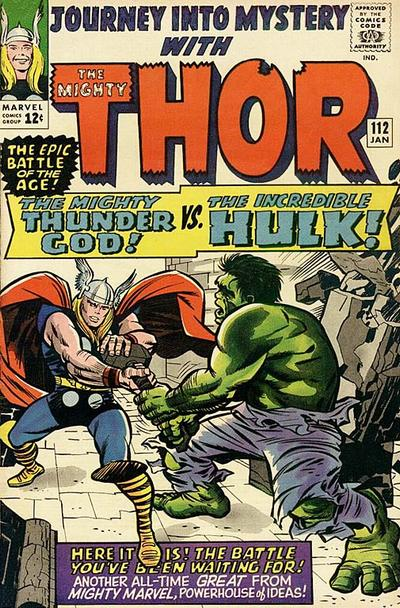 Cover for Journey into Mystery (Marvel, 1952 series) #112