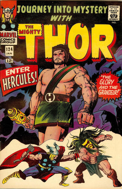 Cover for Journey into Mystery (Marvel, 1952 series) #124