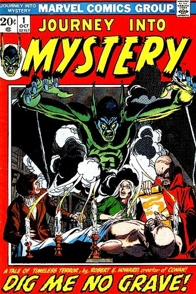 Cover for Journey into Mystery (Marvel, 1972 series) #1