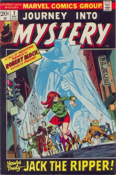 Cover for Journey into Mystery (Marvel, 1972 series) #2