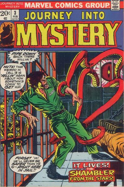 Cover for Journey into Mystery (Marvel, 1972 series) #3